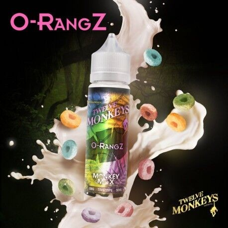 Twelve Monkeys - O-RangZ 50ml