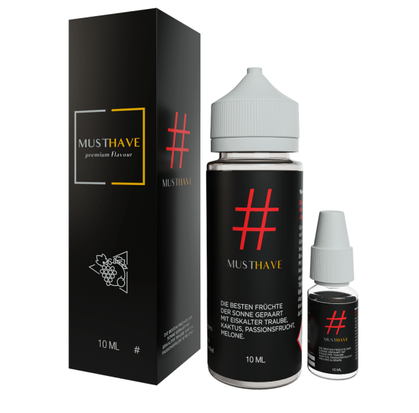 MUSTHAVE # 10ml Aroma