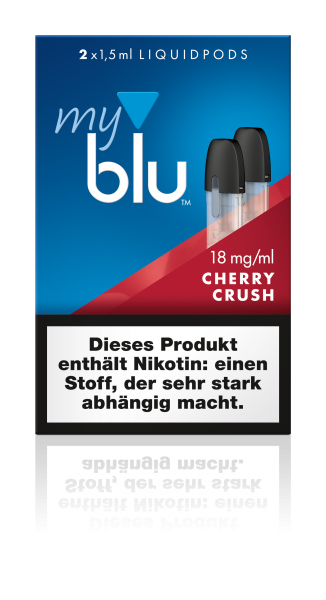 myblu Pods - Cherry Crush (2er Pack)