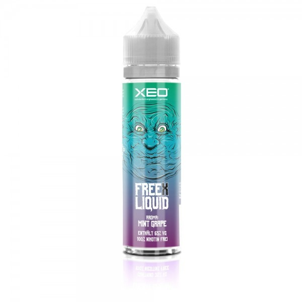 Free X Liquid - Cutthroat Djinn - Mint Grape 50ml / 60ml