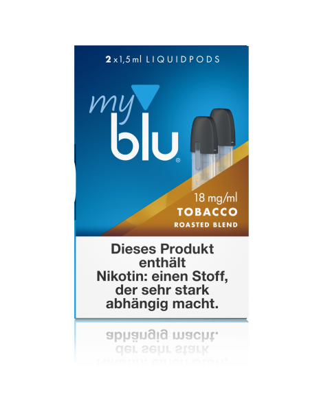 myblu Pods - Tobacco Roasted Blend (2er Pack)