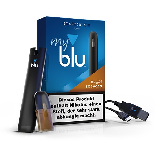 myblu Starter Kit Tobacco 18mg
