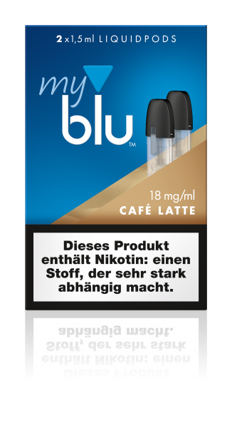 myblu Pods - Cafe Latte (2er Pack)