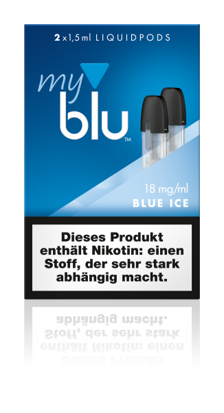 myblu Pods - Blue Ice (2er Pack)