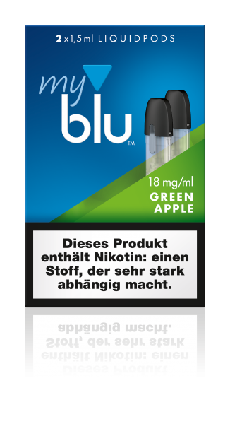 myblu Pods - Green Apple (2er Pack)